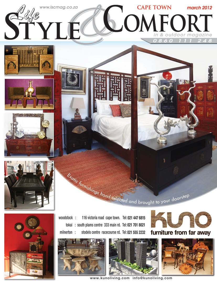 Kuno furniture finds from far away from bali india china to cape town then to your Home furniture rental cape town